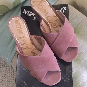 6f87705654f5 Sam Edelman Shoes - NIB Sam Edelman Jayne Dusty Rose Platform Sandal
